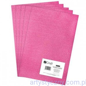 Filc 2mm - Arkusz A4 - DARK PINK