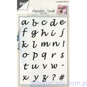 Clear Stamps Alphabet Small Joy - Alfabet 6410/0438