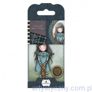 Rubber Stamp - Santoro - Forget Me Not - Gorjuss 907304