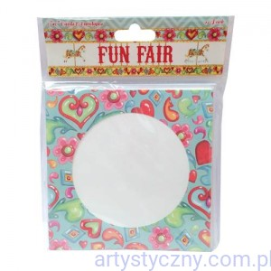 Kartki i Koperty - Fun Fair 6x6 Cards & Envelopes
