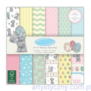 Papiery Ozdobne - Me to You Easter Paper Pack - 15,3x15,3 cm ~ 48 ark