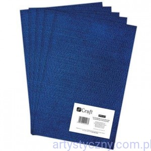 Filc 2mm - Arkusz A4 - ROYAL BLUE