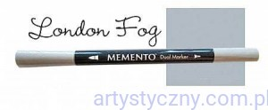 Marker Memento do stempli - London Fog - Szary